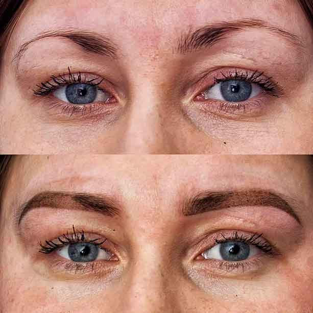Permanent Makeup Tattoo Eyebrows
