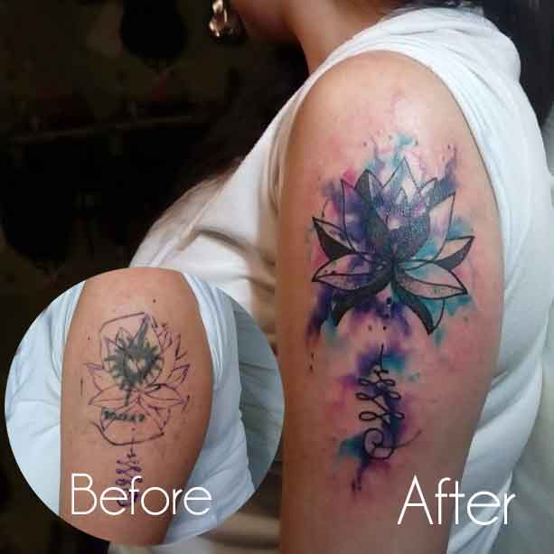 Female Cover Up Tattoos