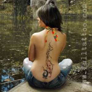 Spine Tattoos For Women