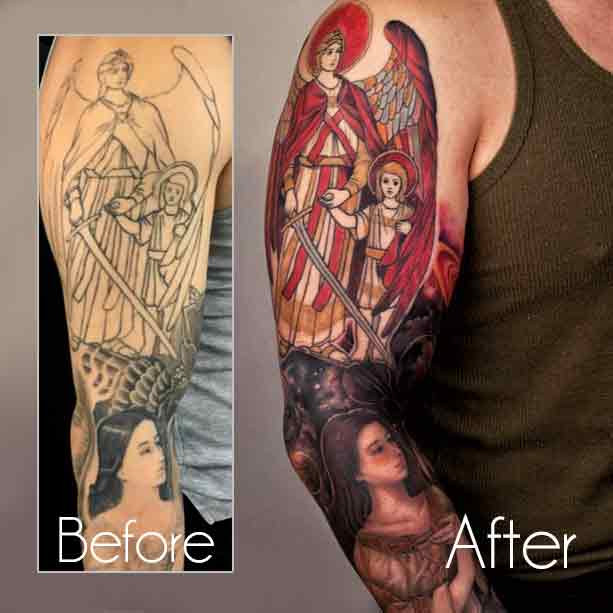 Tattoo Cover Up Sleeve Wrist