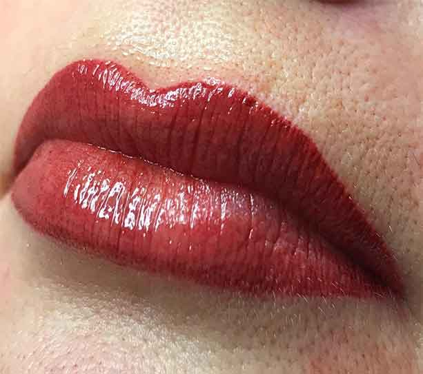 Permanent Tattoo Lips