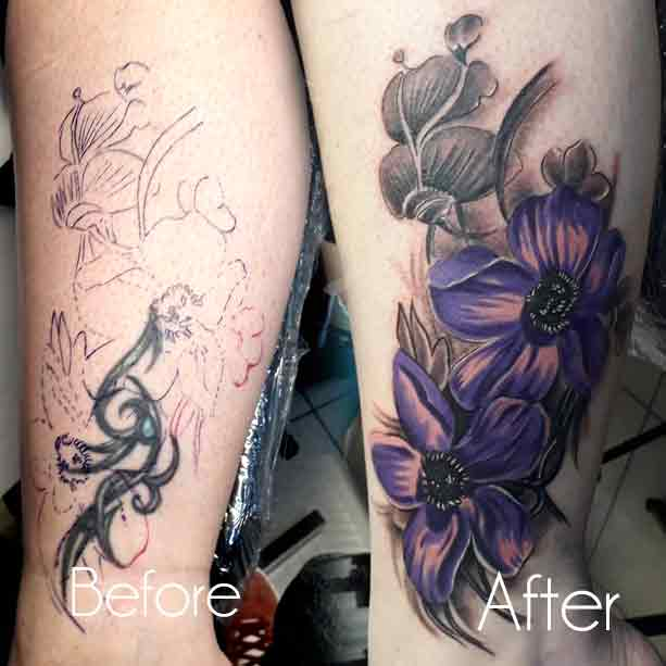Tattoo Sleeve Cover Up Forearm
